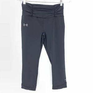 Under Armour Black Capri Fitted Yoga Pants